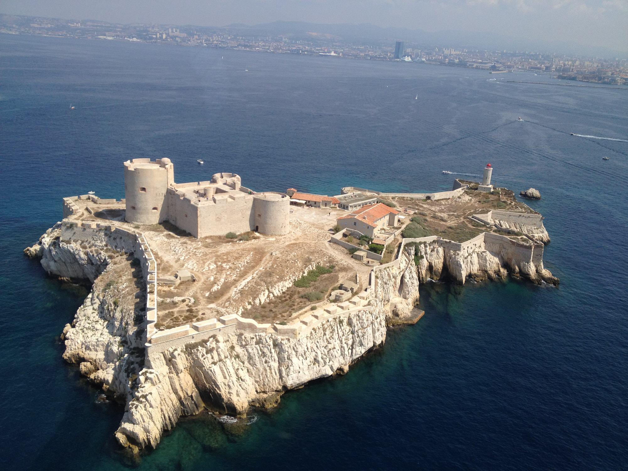 Le chateau d'If à Marseille