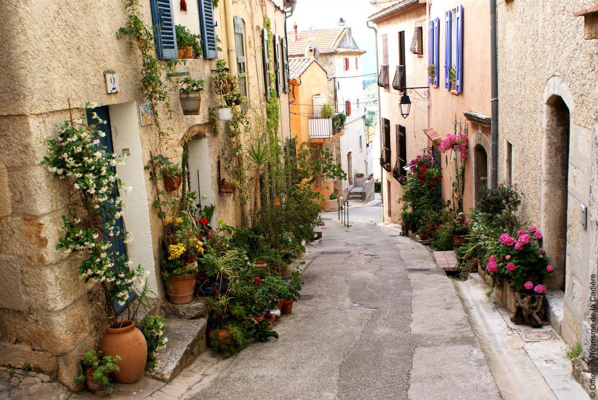 La Cadière rue denfert rochereau ©Ot La Cadière