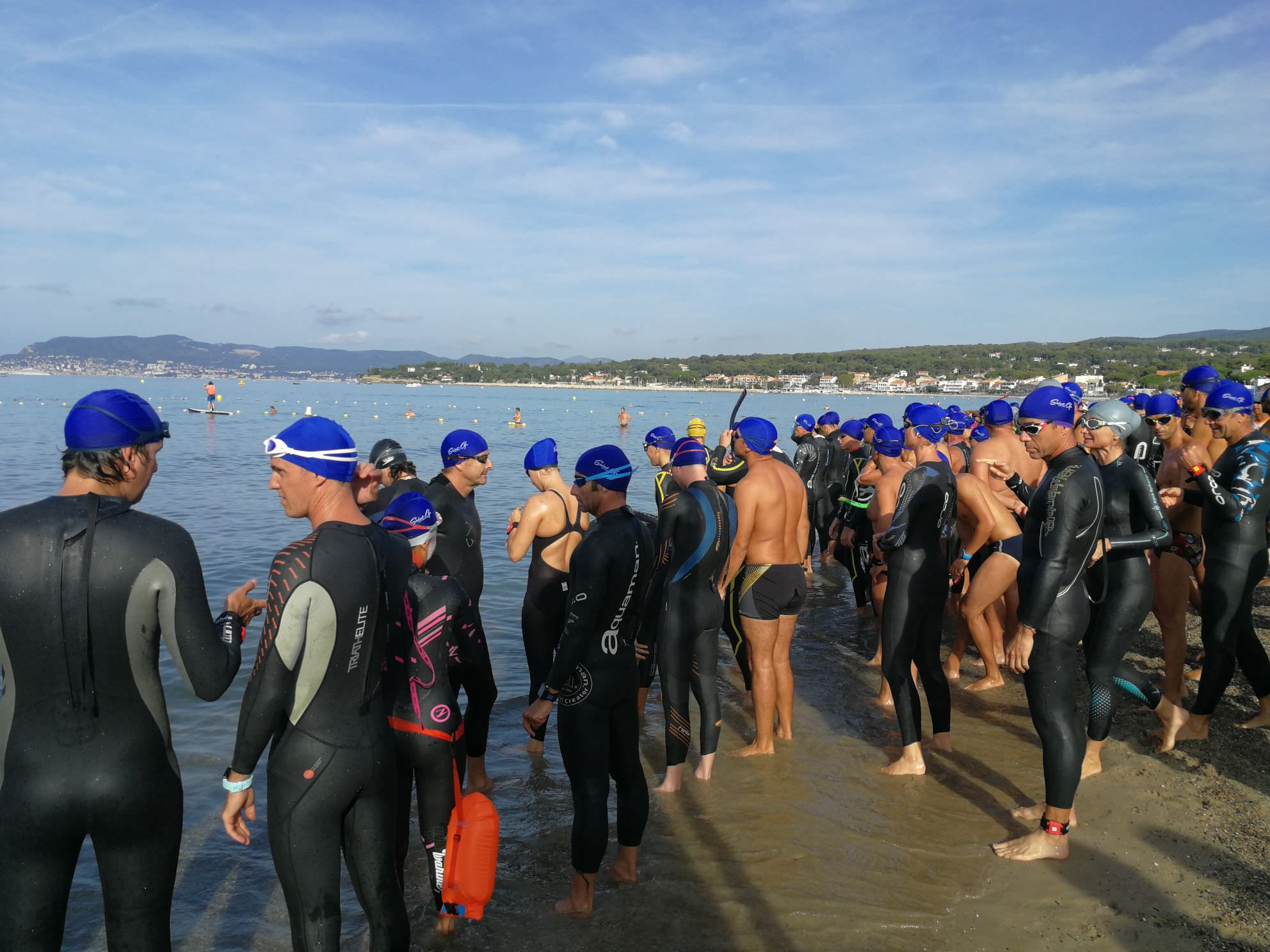Saint-Cyr en nage
