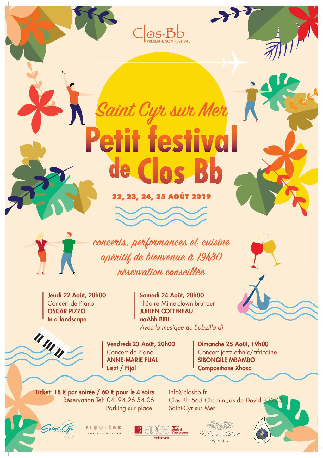 Petit festival de Clos Bb