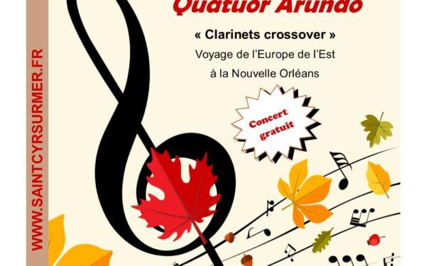 Concert Mélodies d'automne : Quatuor arundo