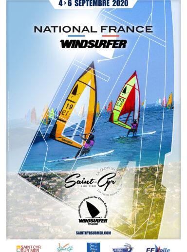 National France Windsurfer