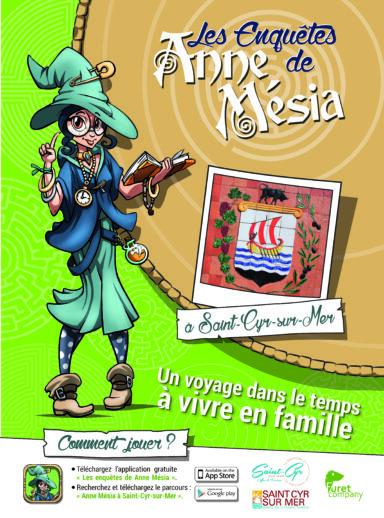 Les enquêtes de Anne Mésia à Saint-Cyr-sur-Mer