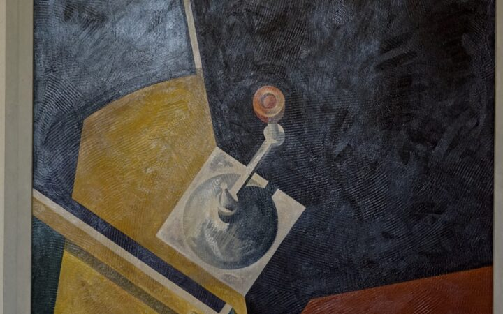 Espace et temps, hommage à Marcel Duchamps de Bernward Leist