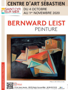 Affiche exposition Bernward Leist