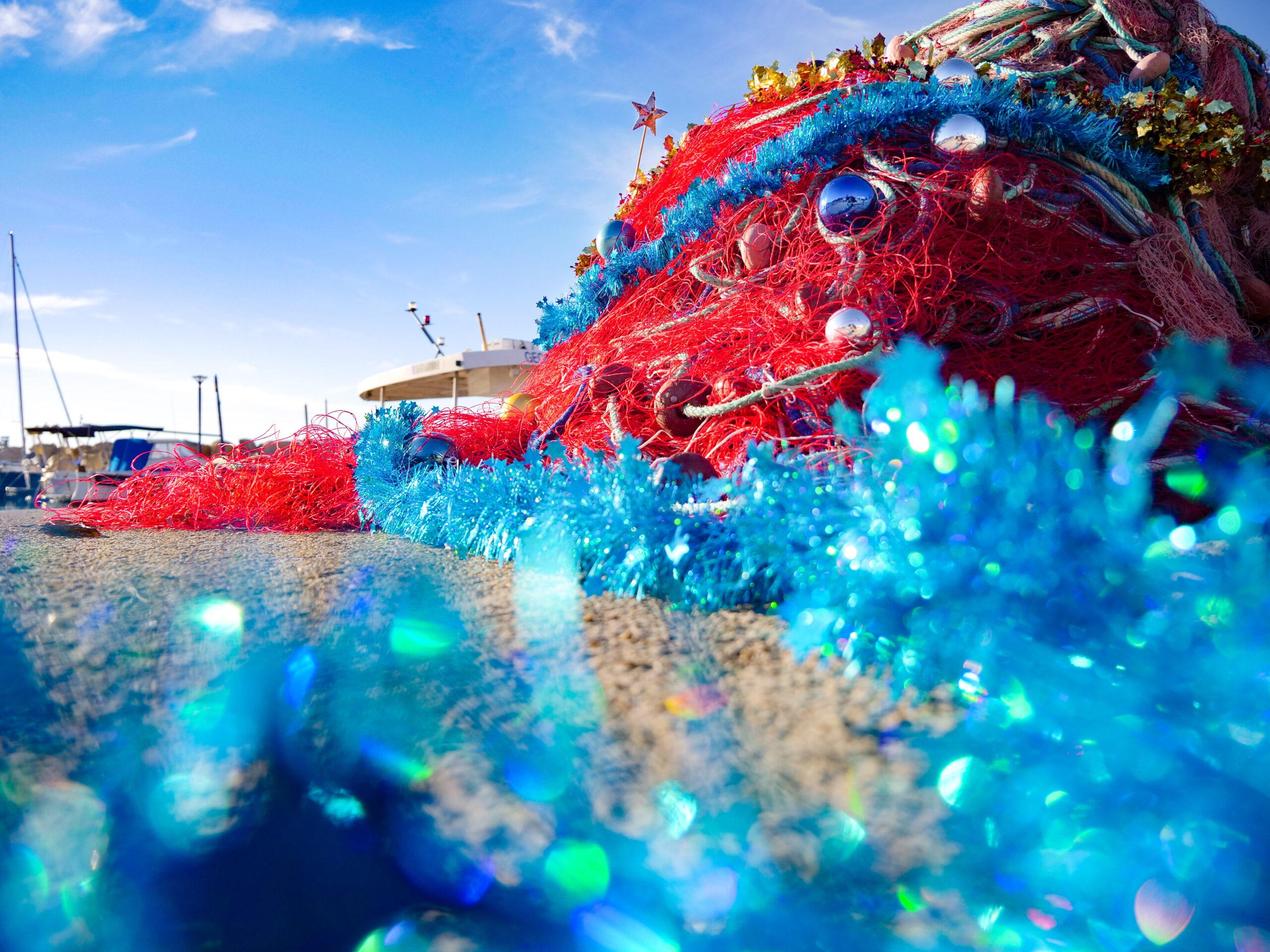 Filet de Noël sur le port de la Madrague
