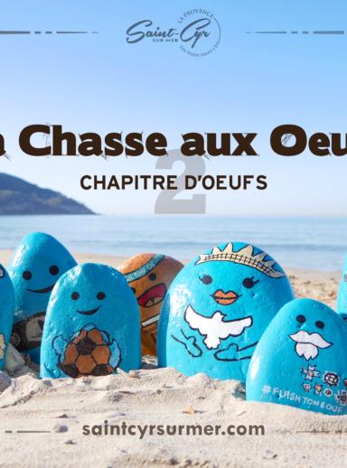 La Chasse aux œufs : chapitre d'œufs