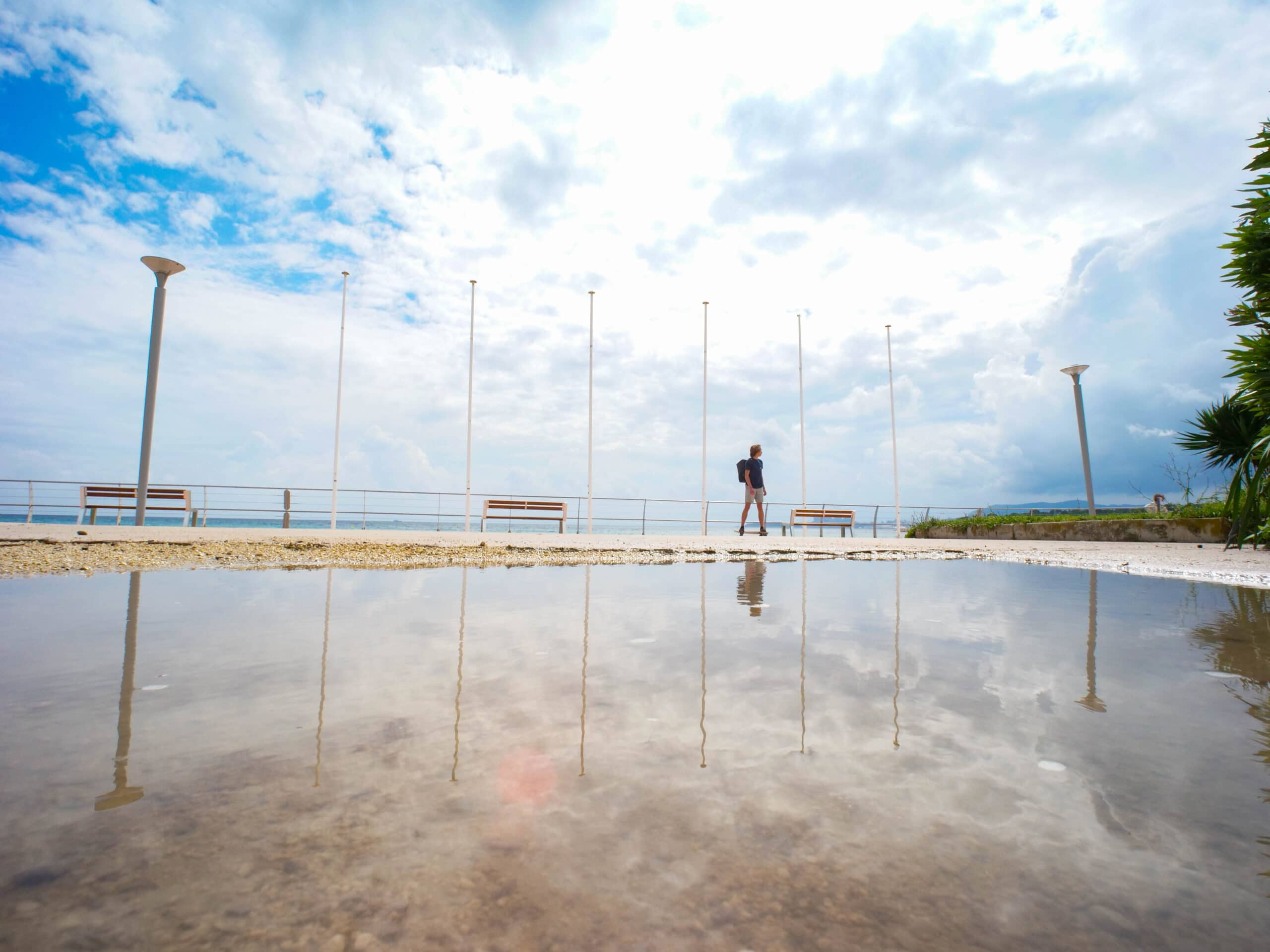 Journée sous la pluie à Saint-Cyr-sur-Mer